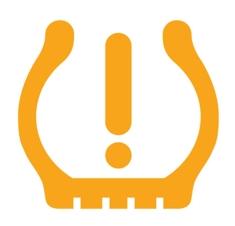 Légnyomás ellenörző hiba jelzés