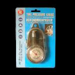 All Ride  fém analóg légnyomásmérő